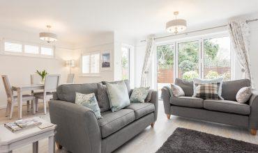 Mudeford Beach Cottage Living Room Second Image
