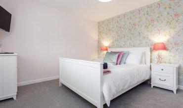 Mudeford Beach Cottage Master Bedroom